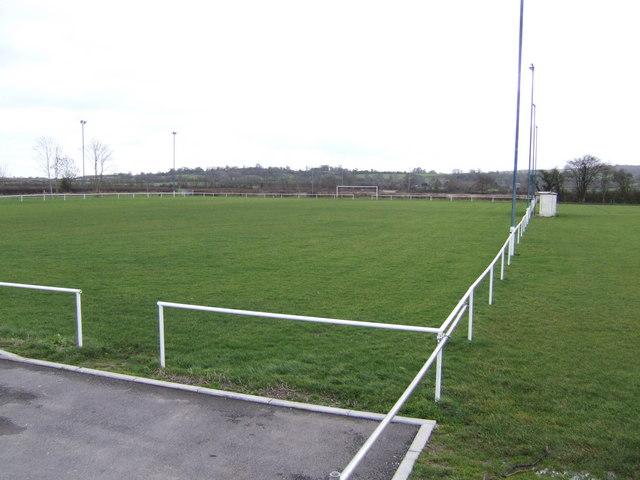 Football pitch, Uffington Sports Club