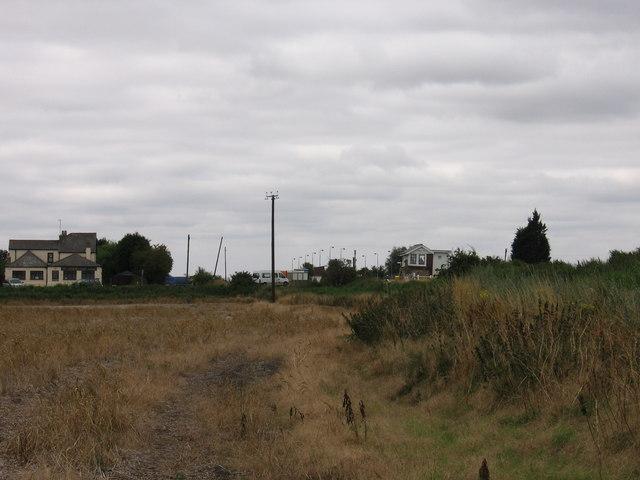 Hereward Way near Shippea Hill Station