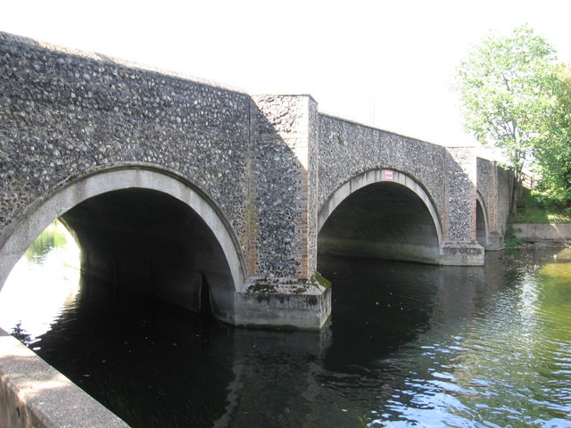 The Little Ouse at Brandon Bridge