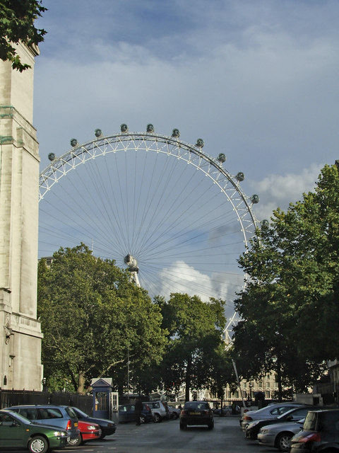 London Eye from Whitehall, London