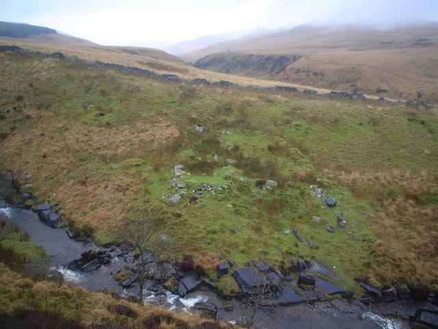 Remote ruined farm