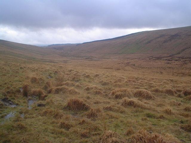 Upper Nedd Fechan valley