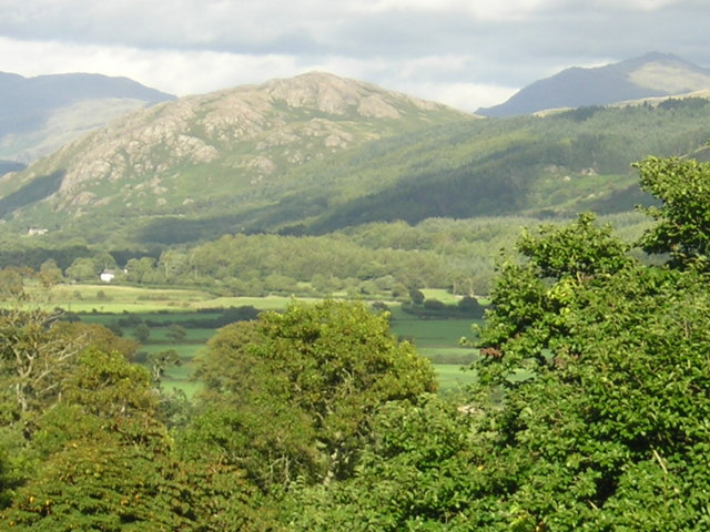 Lakeland View from Muncaster Castle 2