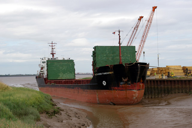 """Alexander Tvardovskiy"" at Barrow Haven"