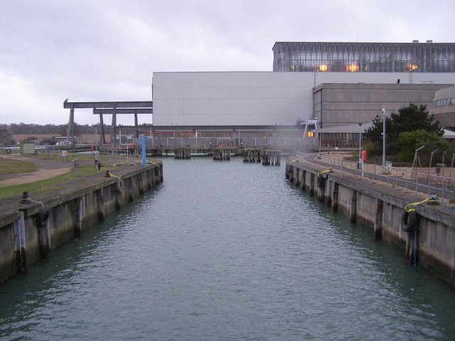 Fawley Power Station dock