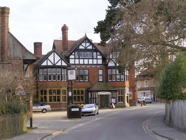 The Montagu Arms hotel, Beaulieu, New Forest