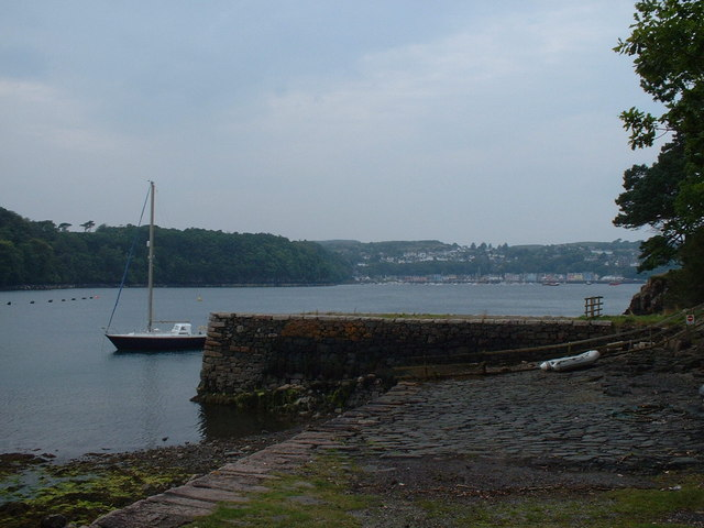 Old pier and slipway near Sput Dubh