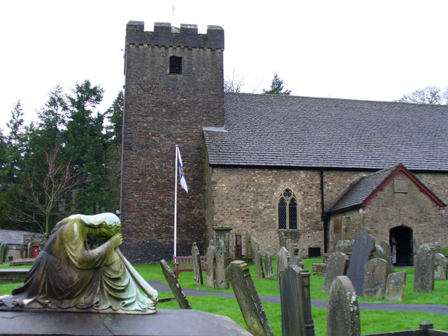 Lower Machen Churchyard