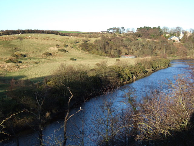 River Coquet to west of Warkworth Castle