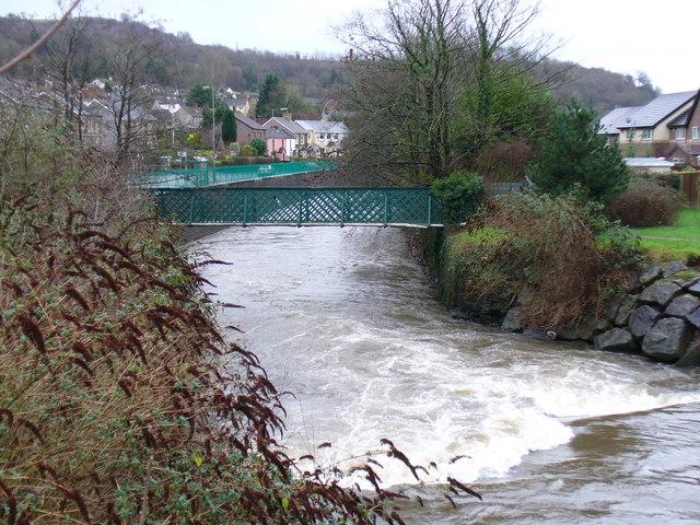 Rhymney River, Machen