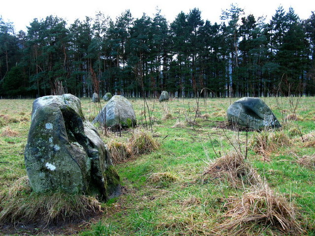 Fortingall Stone Circles