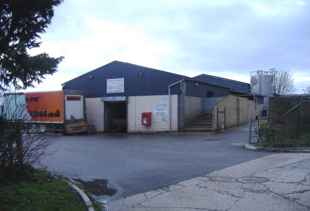 Abattoir at Tockenham Corner