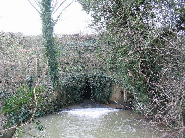 Culvert below the A427