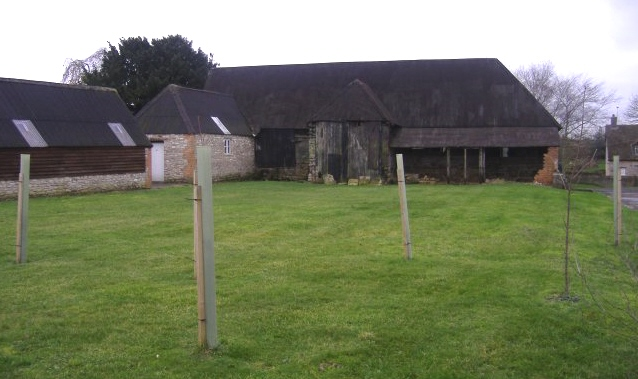 Barn at West farm, Preston