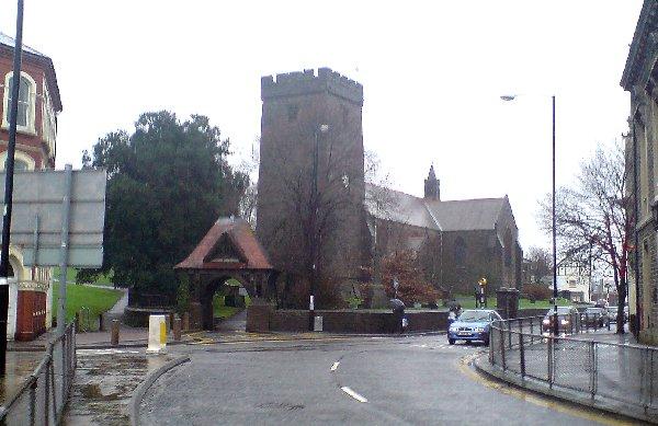 The Parish Church, Llanelli (Recreated)