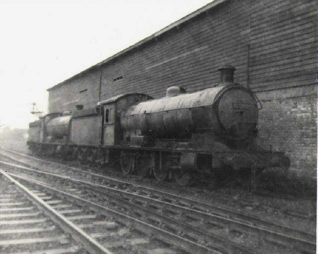 West Hartlepool locomotive shed