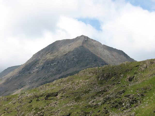 Crib Goch from the Miners' Track