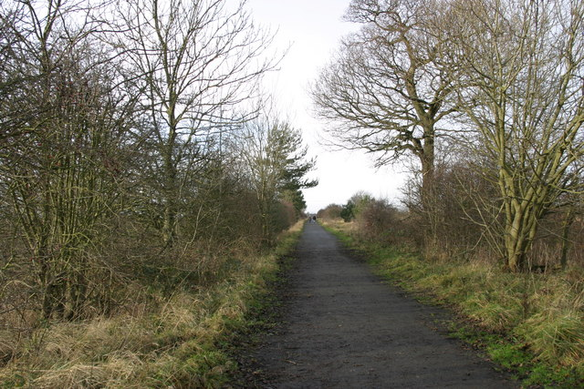 Track from Seaton Burn to the site of Brenkley Drift Mine