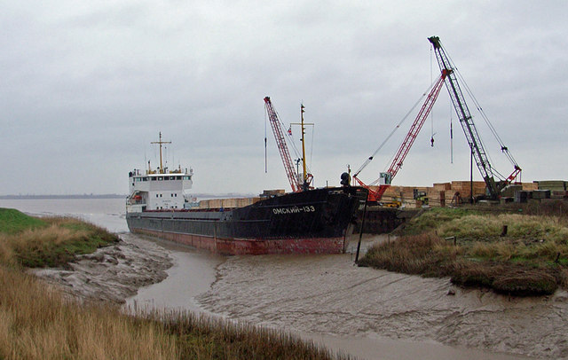 "The ""Omskiy-133"" at Barrow Haven"
