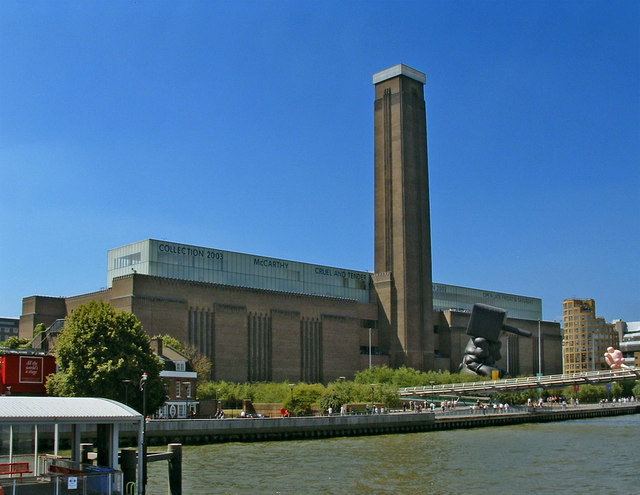 Tate Modern viewed from Thames Pleasure Boat