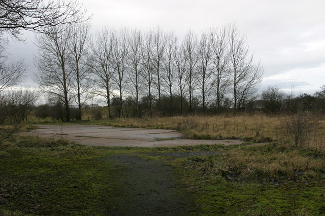 Part of the site of the Brenkley Dift Mine
