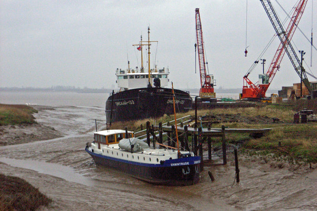 Wet Day at Barrow Haven
