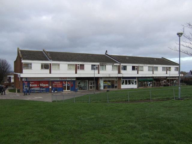 Estate shops, Highworth