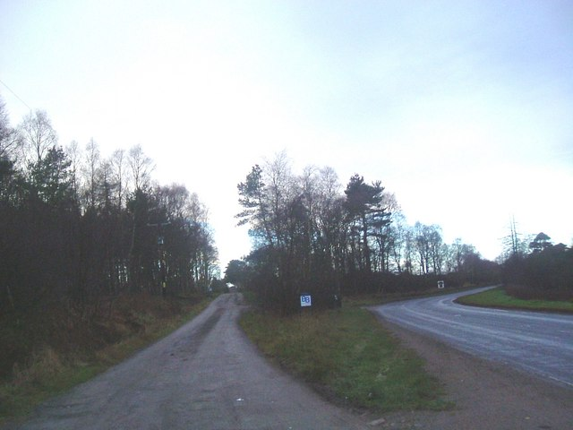 Junction for Newton of Drumgesk