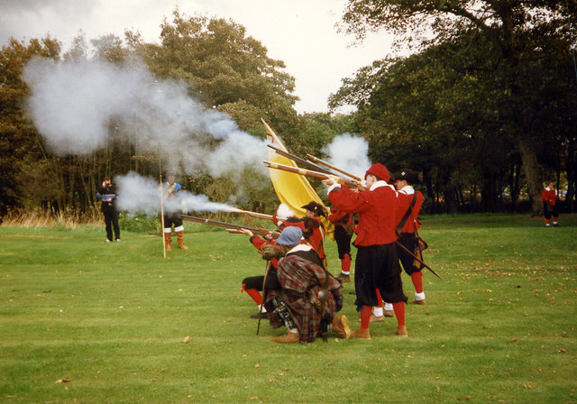 Sealed Knot at Tregwynt, 1997