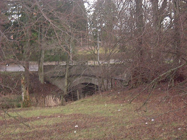 Road bridge over the Tarland Burn