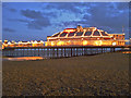 TV6198 : Eastbourne Pier, East Sussex by Christine Matthews