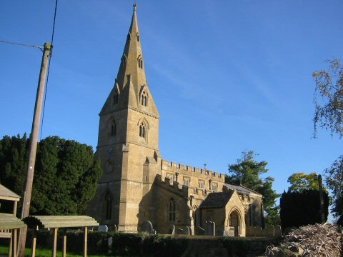 St Peter's Church in Aldwincle