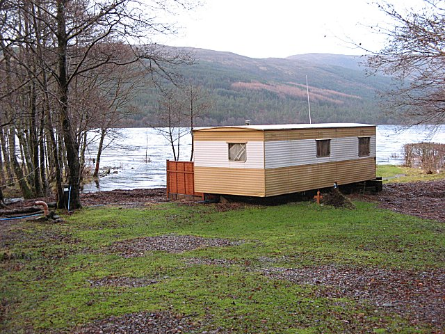 Caravan, Loch Arkaig