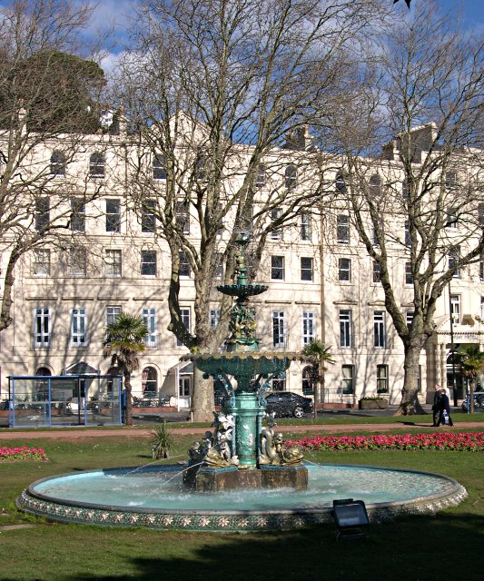 Princess Gardens Fountain and late 19th Century Terrace