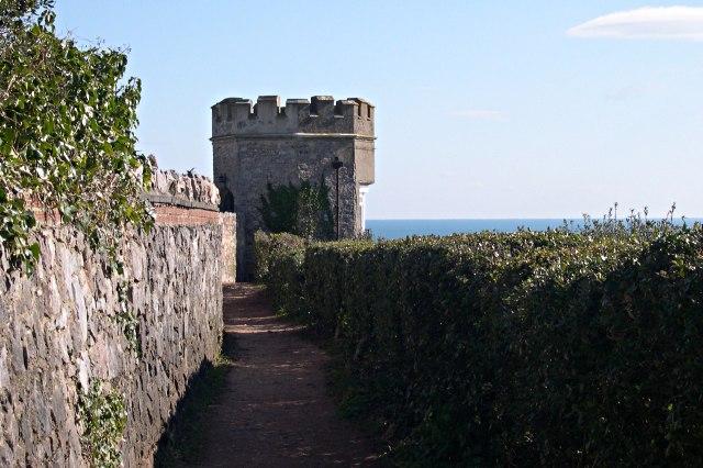 Turret on the Coast Path
