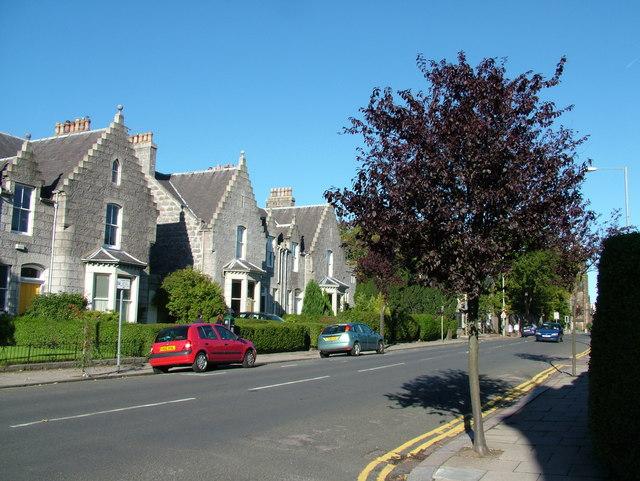 St. Swithin Street, Aberdeen