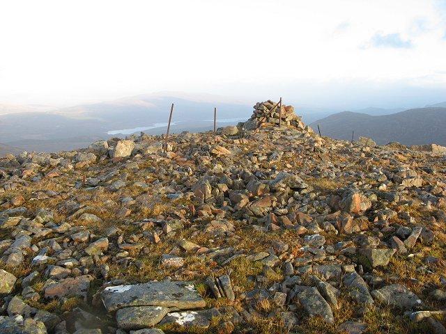 Summit, Sgurr Chòinich