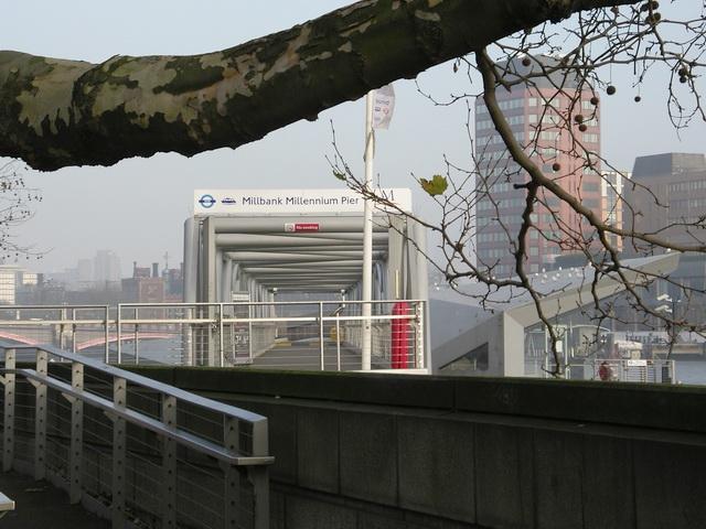 Access to Millbank Millennium Pier