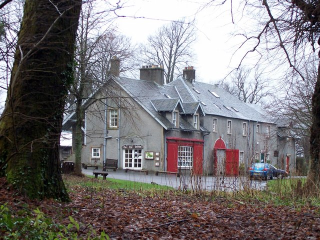 Visitor Centre at Finlaystone Estate