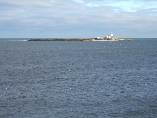 Coquet Island from Island View