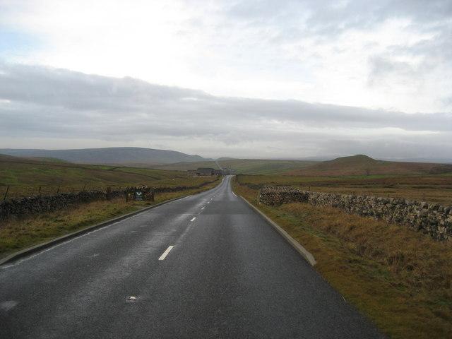 B6265 on Craven Moor