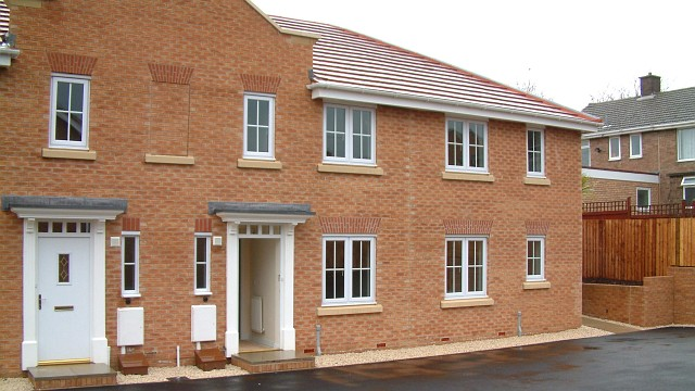 New Housing Association building in North Wingfield
