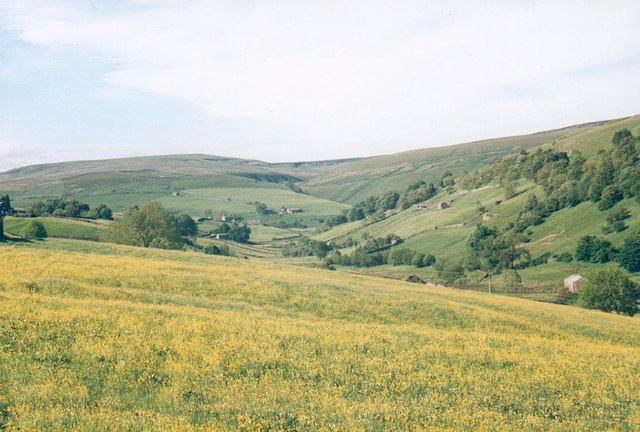 The Skeb Skeugh valley near Angram