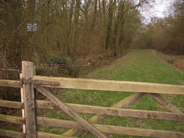 Trespassers in Lavendon Wood Will Be Prosecuted!
