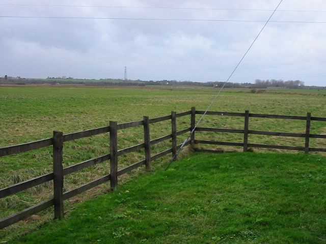 Rough pasture, looking SW from pumping station.