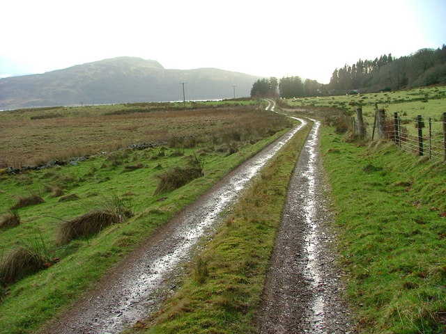 Track to Tulach Ard Farm