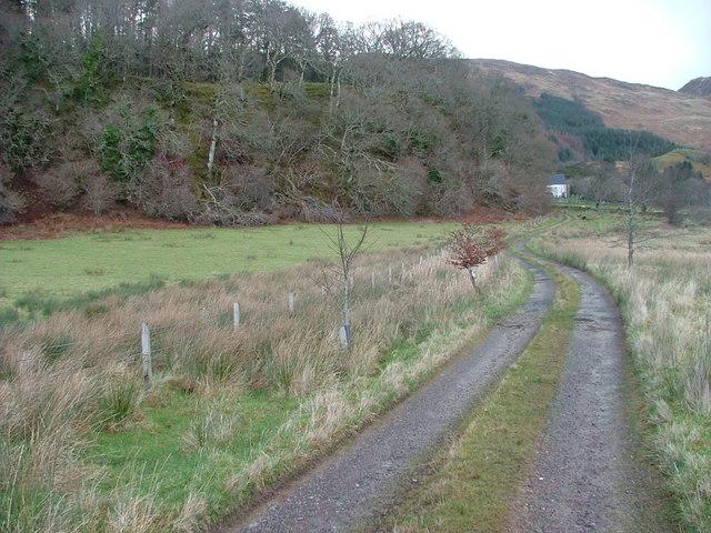 Tulach Ard Farm Track