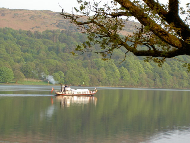 Cruising on Coniston