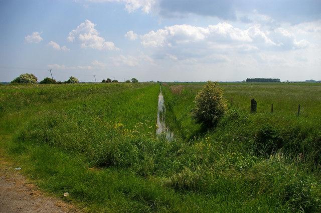 Land Drain near Hibalstow Bridge