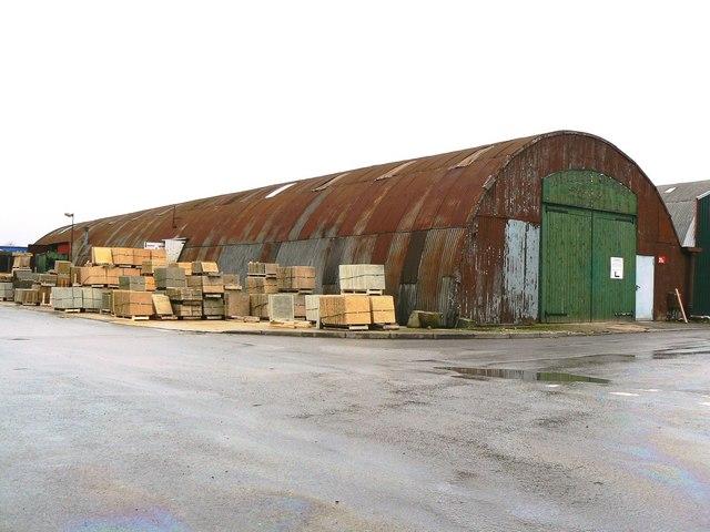 WWII Nissen hut, Bromag Industrial Estate, Witney